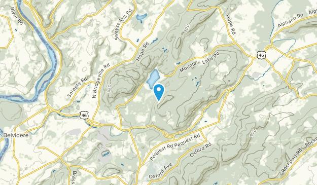 Mountain Lake, New Jersey Map