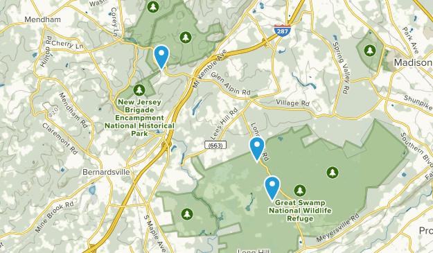 New Vernon, New Jersey Map