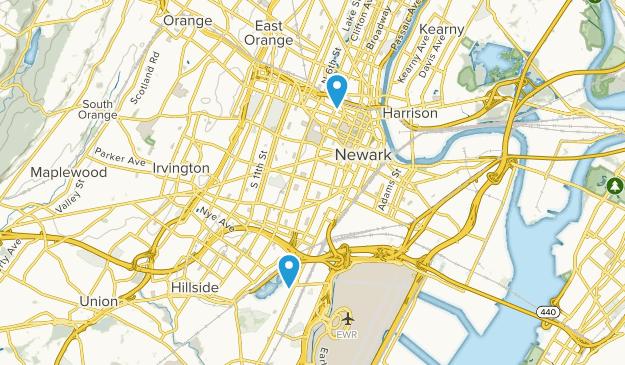 Newark, New Jersey Map