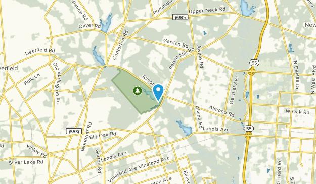 Pittsgrove Twp, New Jersey Map