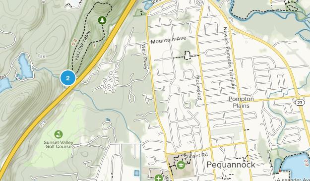 Pompton Plains, New Jersey Map