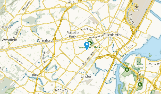 Roselle, New Jersey Map