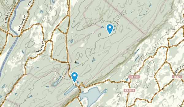 Sandyston, New Jersey Map