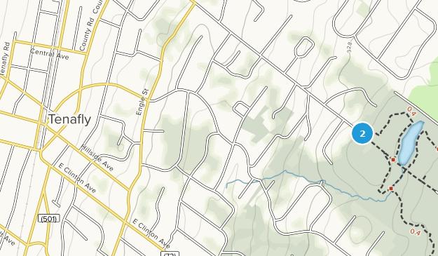 Tenafly, New Jersey Map