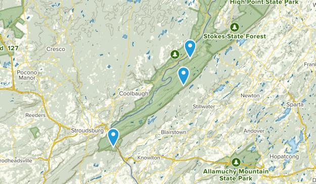Wallpack Center, New Jersey Map