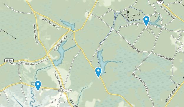 Woodbine, New Jersey Map