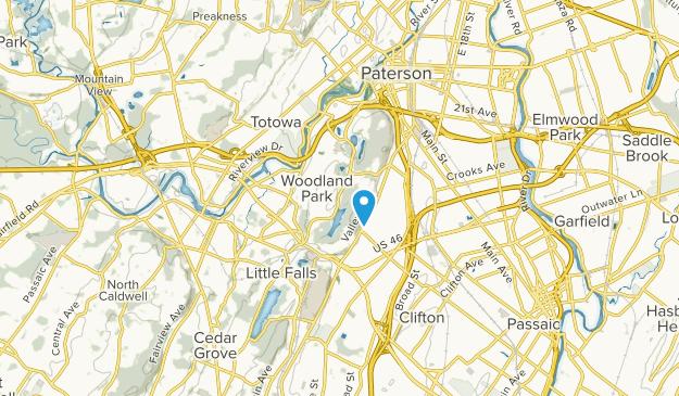 Woodland Park, New Jersey Map