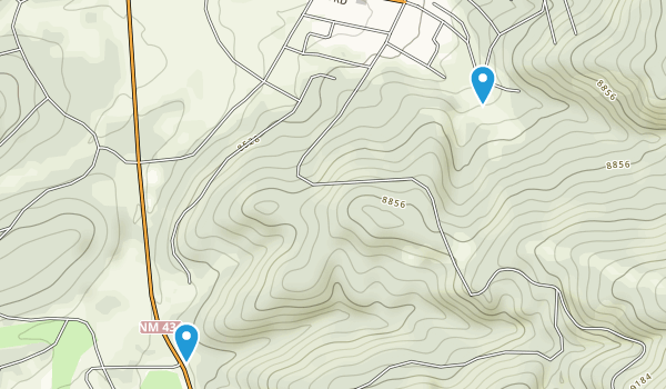 Angel Fire, New Mexico Map