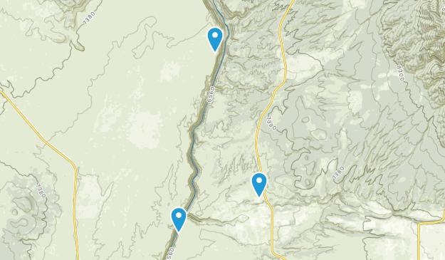 Arroyo Hondo, New Mexico Map