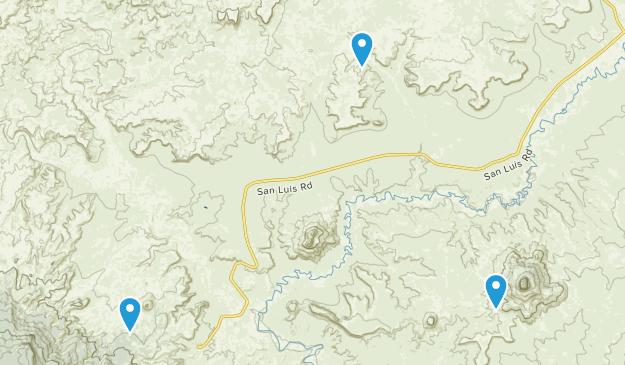 Cabezon, New Mexico Map