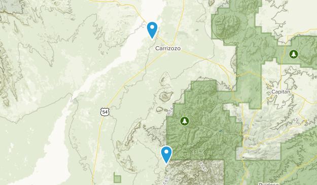 Carrizozo, New Mexico Map