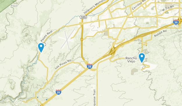 Cieneguilla, New Mexico Map