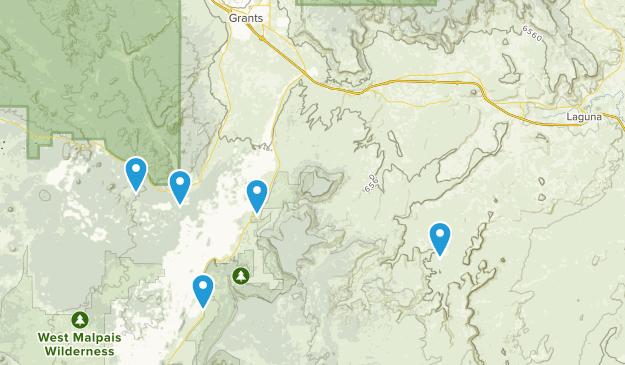 Cubero, New Mexico Map