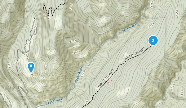 Geronimo, New Mexico Map
