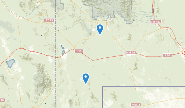 Hurley, New Mexico Map