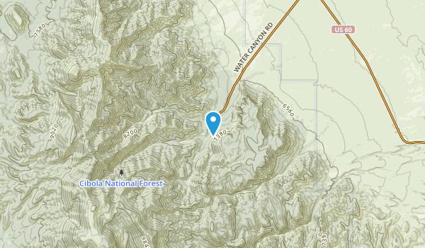 Kelly, New Mexico Map