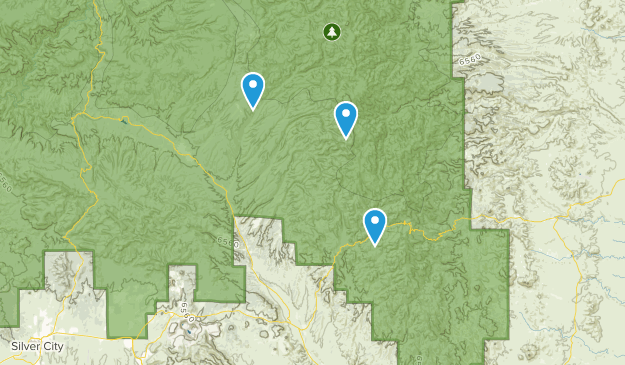 Mimbres, New Mexico Map