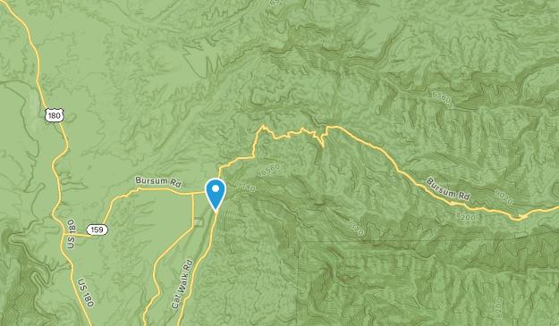 Mogollon, New Mexico Map