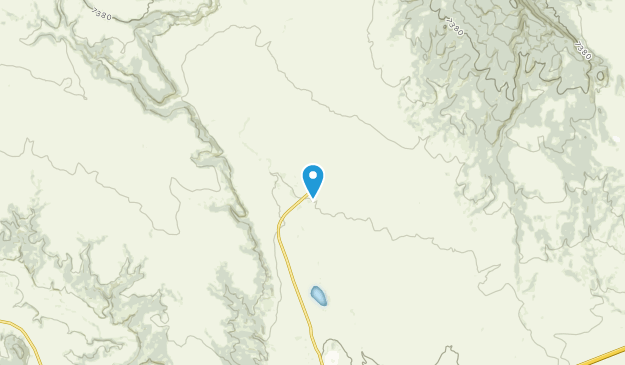 Ocate, New Mexico Map