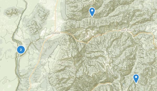 Questa, New Mexico Map