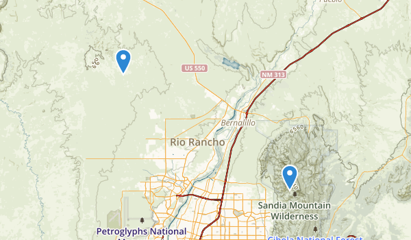 Rio Rancho, New Mexico Map