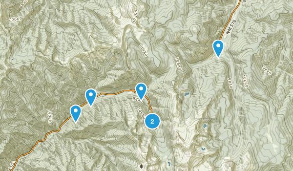 Taos Ski Valley, New Mexico Map