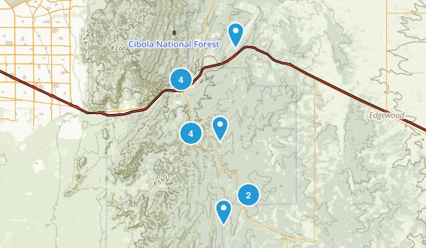 Best Trails Near Tijeras New Mexico Photos Reviews - Us map new mexico