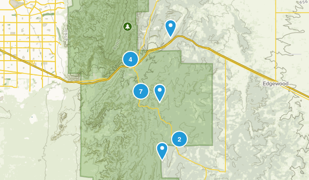 Tijeras, New Mexico Map