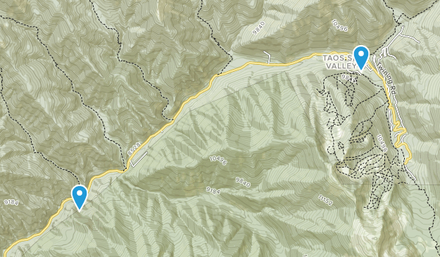 Valdez, New Mexico Map