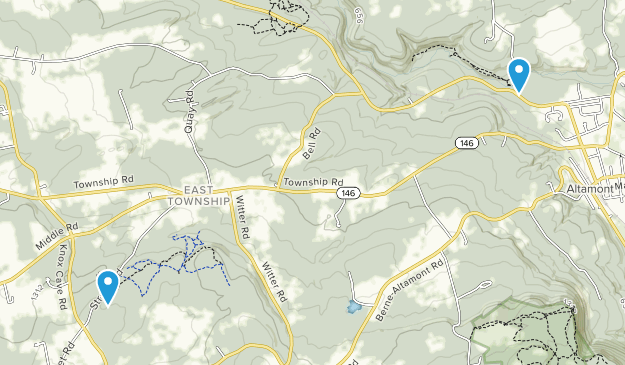 Altamont, New York Map