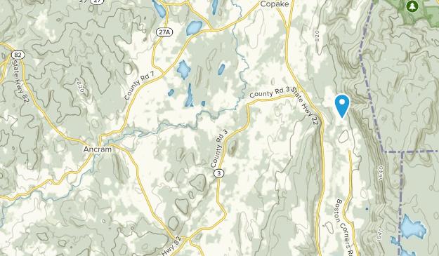 Ancram, New York Map