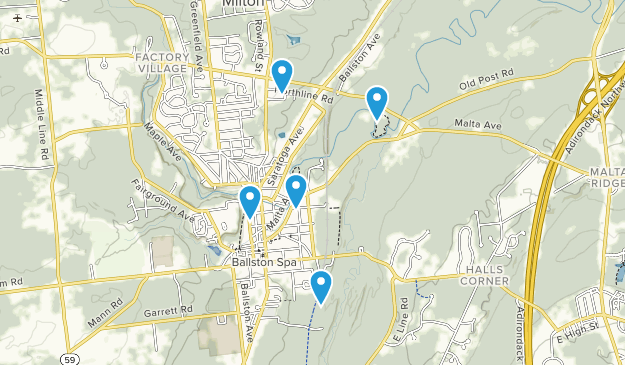 Ballston Spa, New York Map