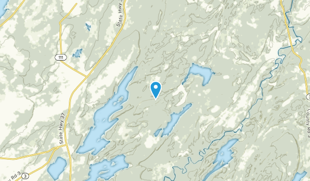 Bean Hill Crossing, New York Map