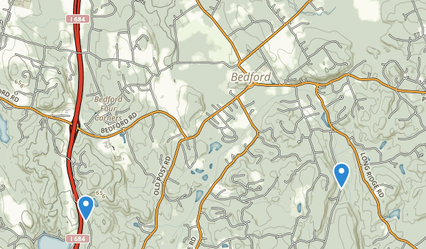 Bedford, New York Map