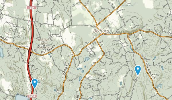 Bedford, New York Map