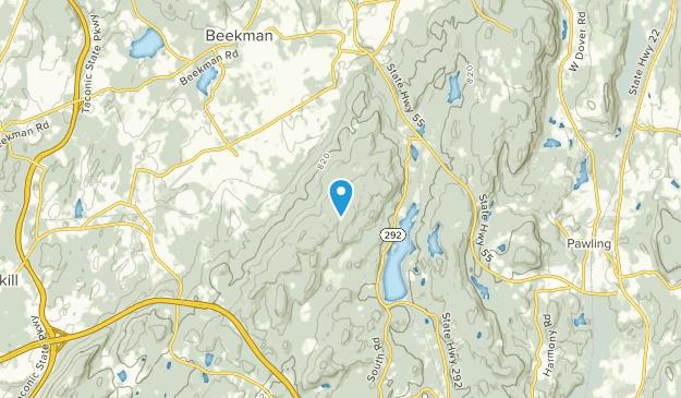 Beekman, New York Map