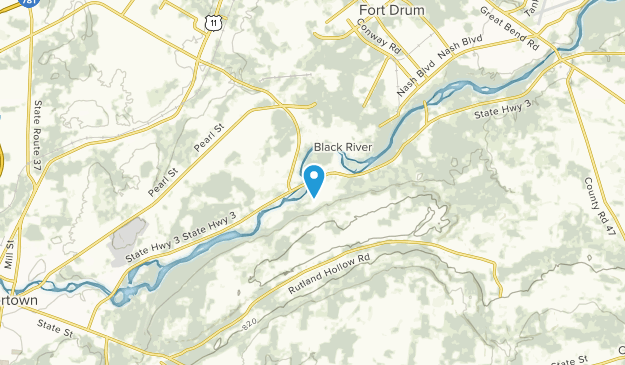 Black River, New York Map