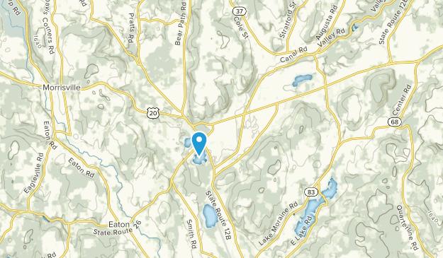 Bouckville, New York Map