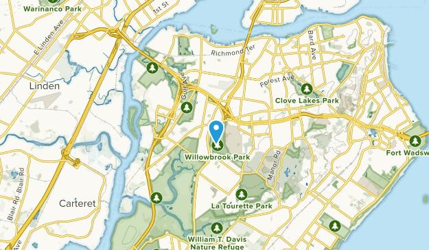 Bulls Head, New York Map