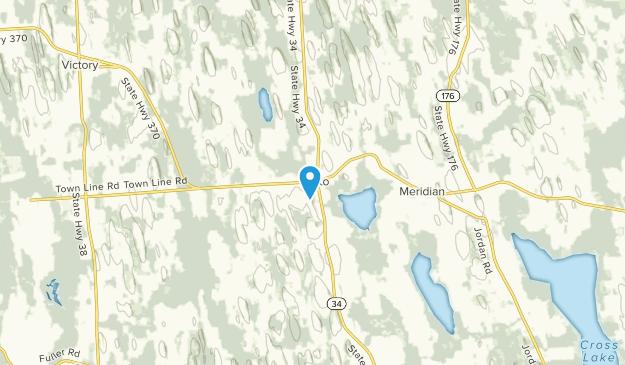Cato, New York Map