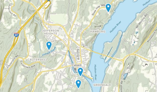 Catskill, New York Map