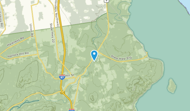 Chesterfield, New York Map