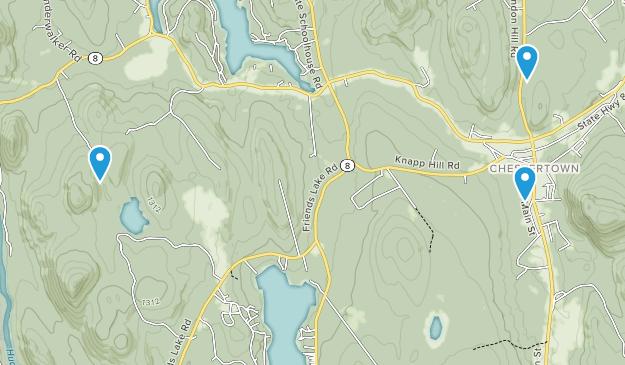 Chestertown, New York Map