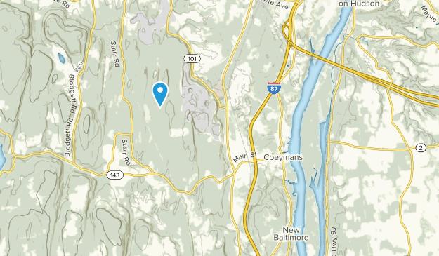 Coeymans, New York Map