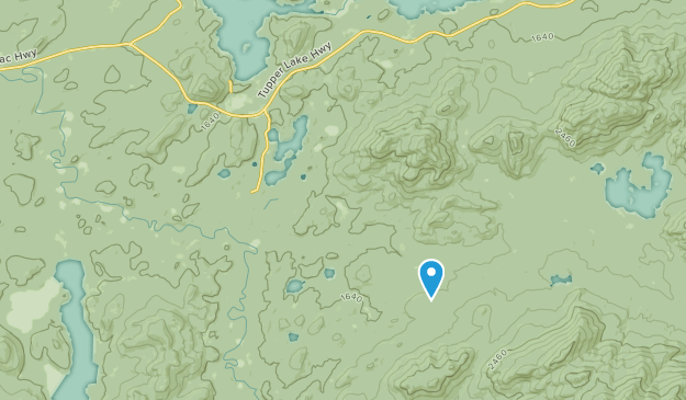 Coreys, New York Map