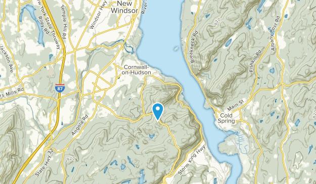 Cornwall-on-Hudson, New York Map