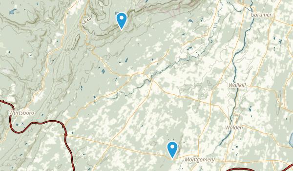 Crawford, New York Map