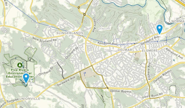 Delmar, New York Map