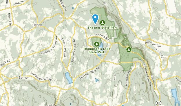East Berne, New York Map