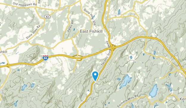 East Fishkill, New York Map
